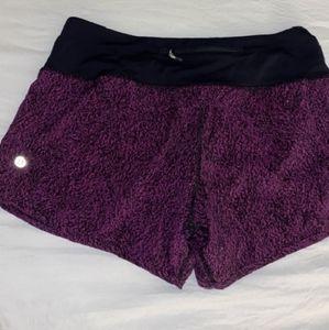 Lululemon Athletic Speed Up Shorts Size 6
